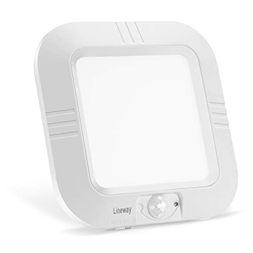 Lineway Motion Sensor Ceiling Light Battery Operated Indoor