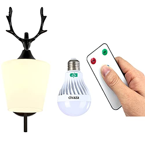 Battery Operated Light Fixture for Indoor Lighting