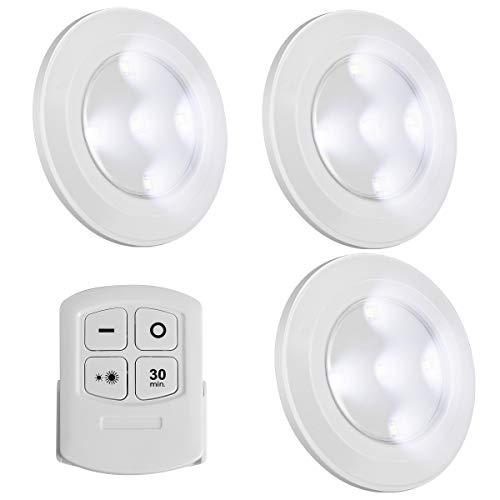 Battery Powered Lights for Night Light Under Cabinet Lighting