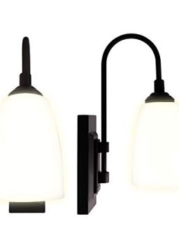 4 Hour Auto Shut-Off Battery Wall Sconce