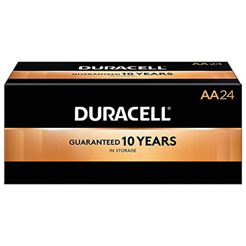 Duracell Coppertop AA Alkaline Batteries 24/Pack