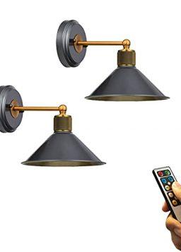KAYYELAMP 2-Pack Waterproof Industrial Retro Wall Lighting