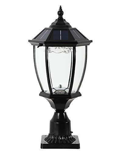 GYDZ Solar Post Lights Outdoor Solar Lamp