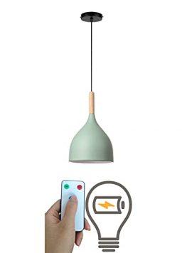 1 Light Nordic Adjustable Pendant Ceiling Light Fixture