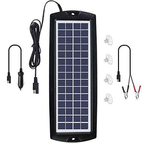Sunway Solar Car Battery Trickle Charger, Maintainer