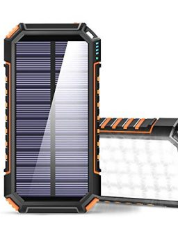Solar Power Bank 26800mAh Portable Solar Charger