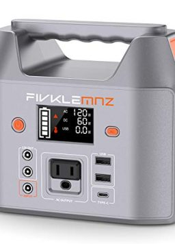 200W Portable Power Station, Backup Battery Pack Power Supply