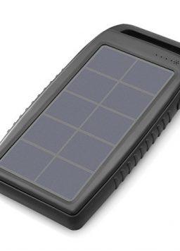 Nekteck Solar Charger 10000mAh Rain-Resistant