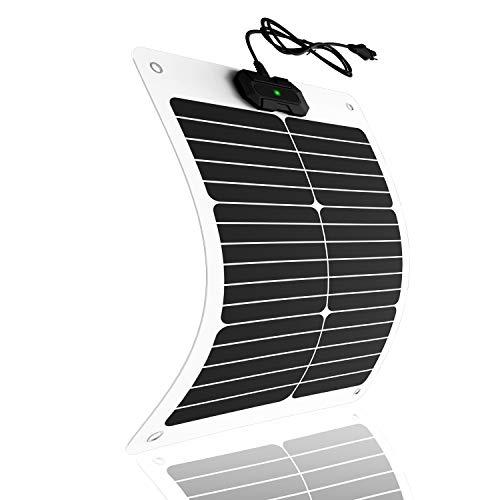 20 Watt 12V Flexible Solar Battery Charger, Maintainer