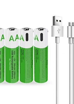 TINOTEEN Lithium ion Rechargeable AAA Battery