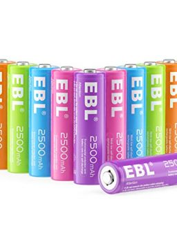 EBL AA Rechargeable Batteries 2500mAh
