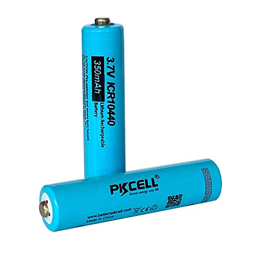 3.7V AAA Size 350MAH Lithium Rechargeable Battery
