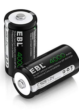 EBL Rechargeable C Battery High Performance