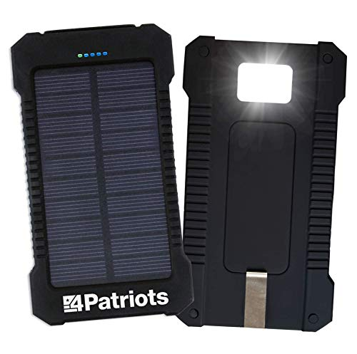 Patriot Power Cell Pocket-Sized Solar USB Charger