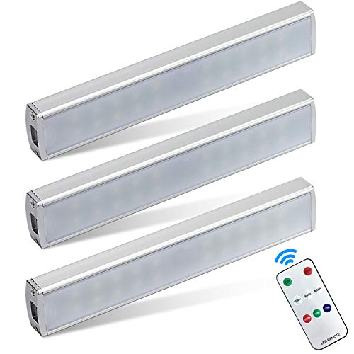 Cabinet Lights with Remote Control Battery Operated