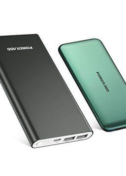 10000mAh ast Charging Power Bank with USB C Slim