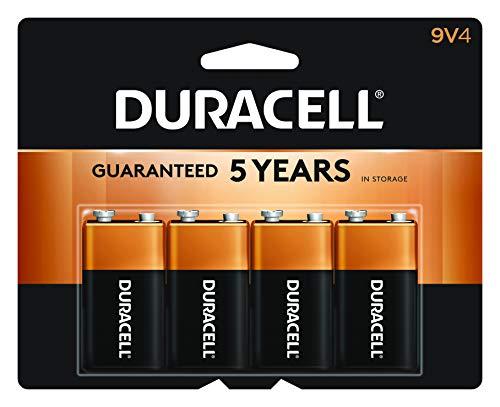 Duracell - CopperTop 9V Alkaline Batteries