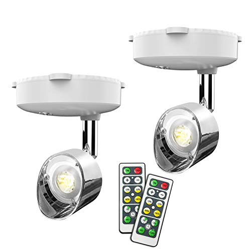 Wireless Spotlight, Battery Operated Accent Lights