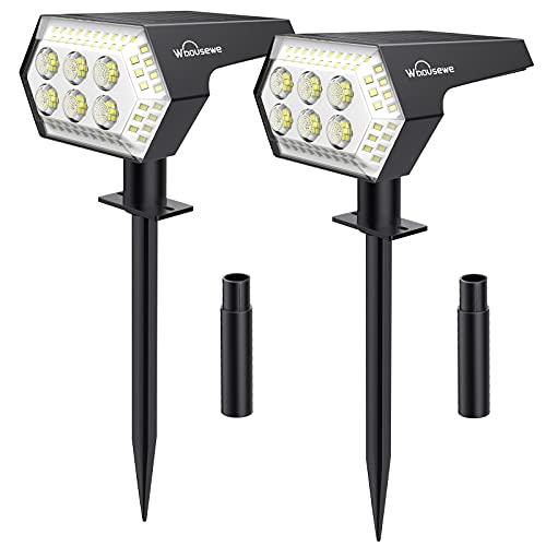Solar Landscape Spotlights, Whousewe 108 LEDs