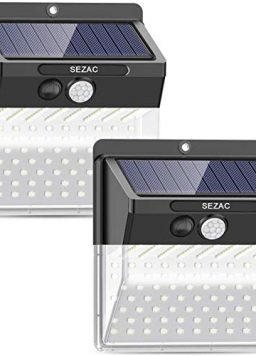 136 LED New Model, Photo voltaic Lights Outside,