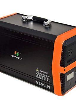 SUNGZU 1000 Watt Portable Power Station Solar Generator