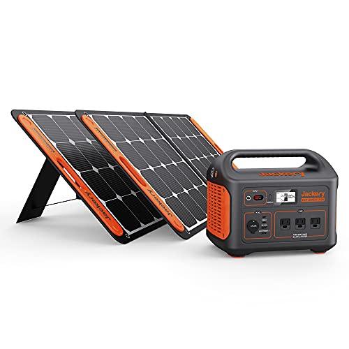 Jackery Solar Generator 1000, Explorer 1000 and 2X SolarSaga 100W