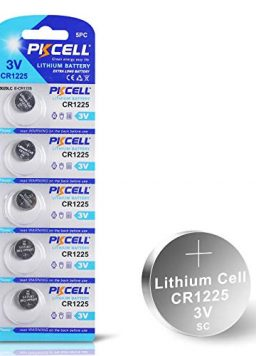 5 Count 3V Lithium Battery for Oral Thermometers