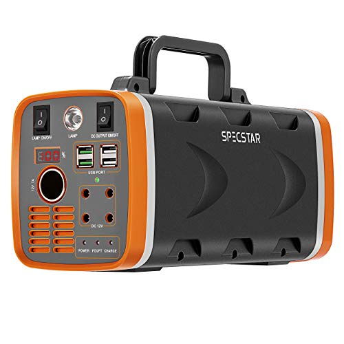 SPECSTAR Portable Power Station with LED Light