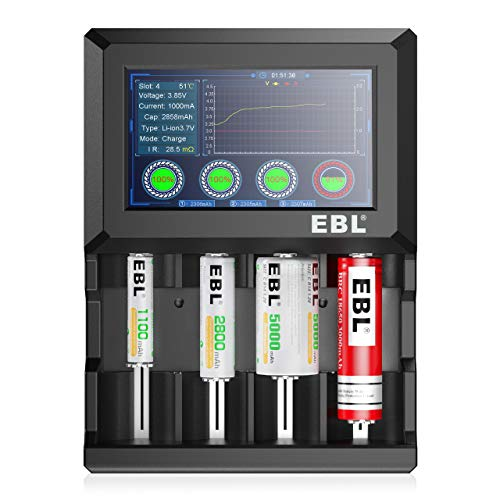 EBL Touch LCD Universal Battery Charger