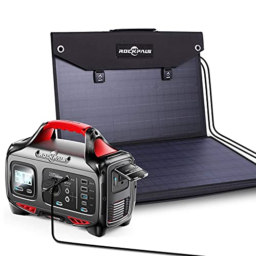 ROCKPALS Portable Power Station 200W and ROCKPALS