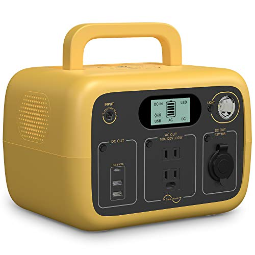 BLUETTI AC30 Portable Power Station 300Wh LiFePO4 Solar Generator