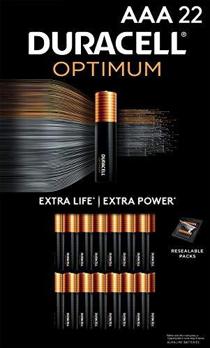 Duracell Optimum AAA Batteries