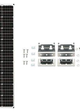 "Zamp Solar Legacy Series 90-Watt ""Long"" Roof Mount Solar Panel"
