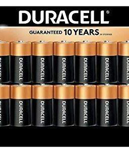 Duracell Alkaline C Batteries, Long Lasting Power