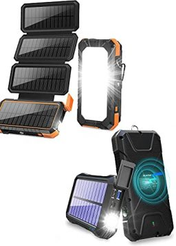 20,000mAh Fast Solar Charger for Indoor Use