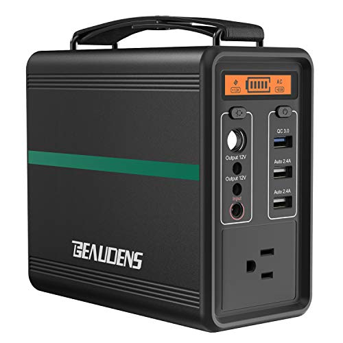 BEAUDENS Portable Power Station 166Wh/52000mAh