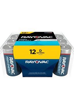 Rayovac D Batteries, Alkaline D Cell Batteries
