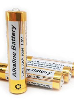 Cotchear AAA Batteries, 4pcs 1200mAh Long Lasting