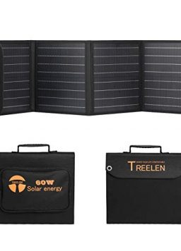 60W Portable Solar Panel Charger Kit