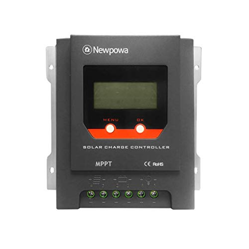Newpowa 30A MPPT Solar Charge Controller 12V/24V