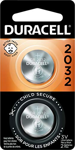 2032 3V Lithium Coin Battery Duracell