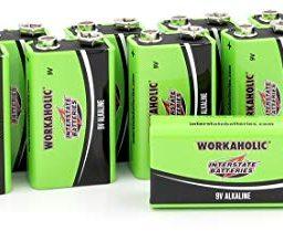 Interstate Batteries 9V Alkaline Battery (12 Pack)