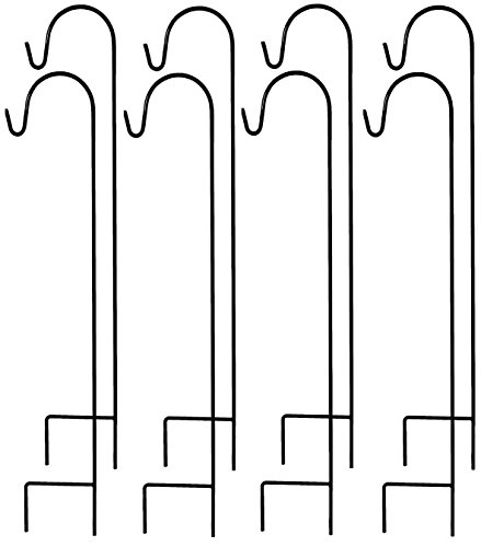 Ashman Shepherd's Hooks Set of 8 and 35 Inches Long