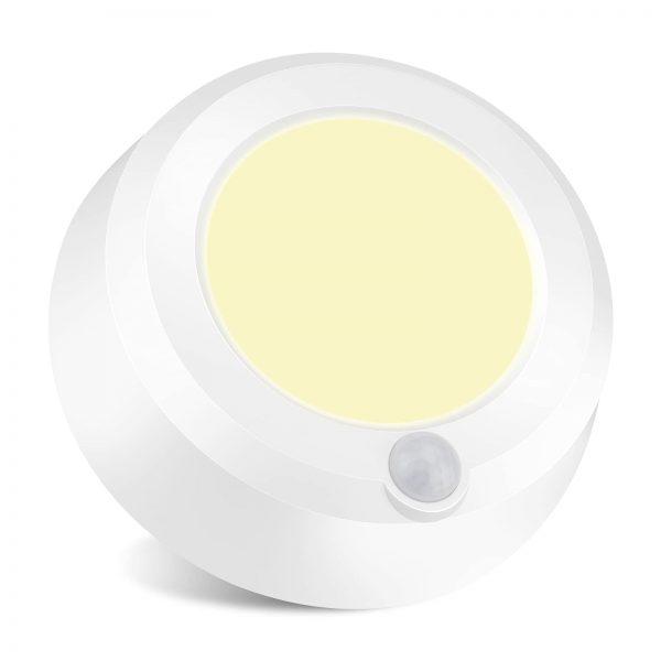 BIGMONAT Cordless Ceiling Light with Motion Sensor