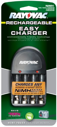 Rayovac Everyday-Use 4 Position AA/AAA Battery Charger