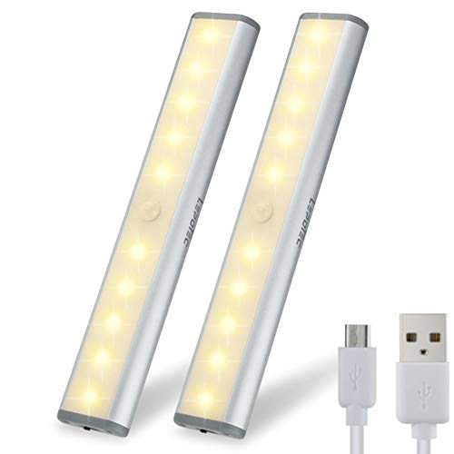 Motion Sensor Cabinet Light,Under Counter Closet Lighting