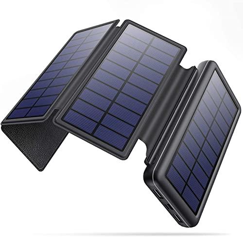 Solar Portable Charger, 36800mah Power Bank