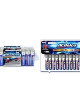 40-Count AA Batteries Power Super Alkaline Battery