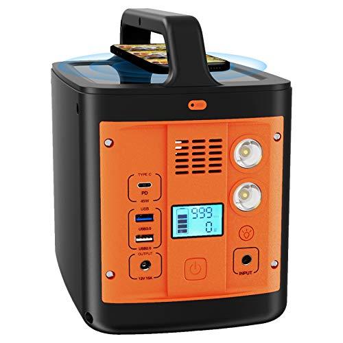 Solar Outdoor Generator Portable Power Station