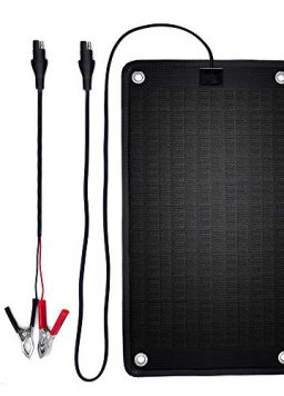PowerEZ 24Volt 10 Watts Solar Battery Charger for Trolling Motor